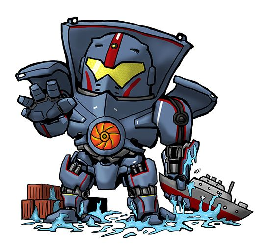 Pacific rim clipart jpg library stock rakugaki Gipsy Danger by towamin | Pacific Rim | Pinterest | Gipsy ... jpg library stock