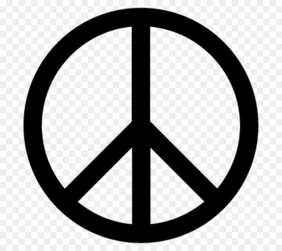 Pacifism clipart freeuse stock Peace Symbols Angle png download - 800*800 - Free ... freeuse stock