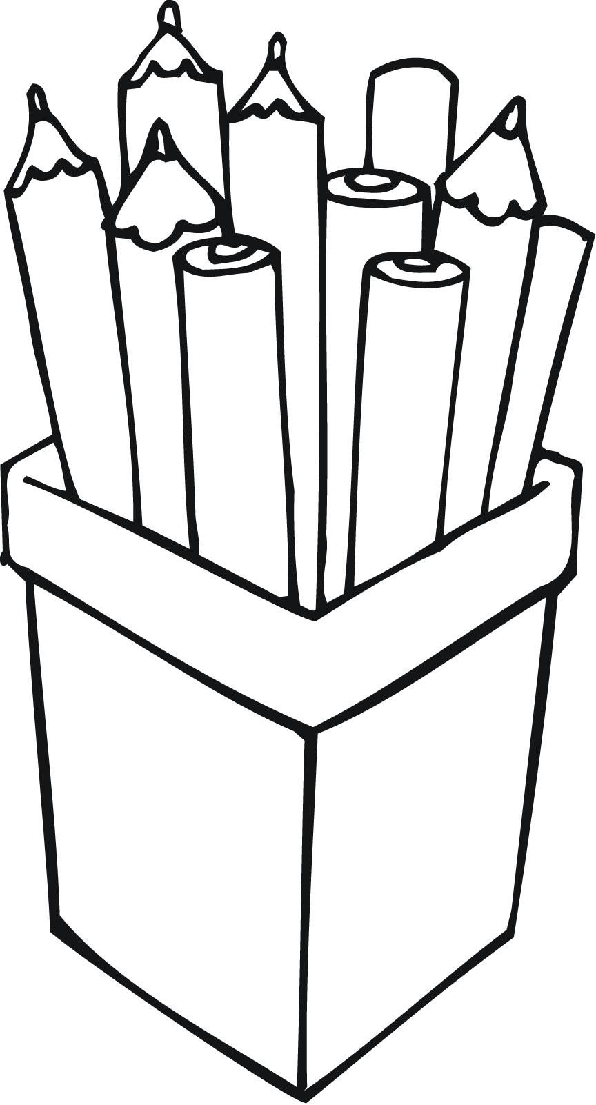 Pack of pencils clipart black and white clipart library stock Pencil Box Clipart | Free download best Pencil Box Clipart ... clipart library stock
