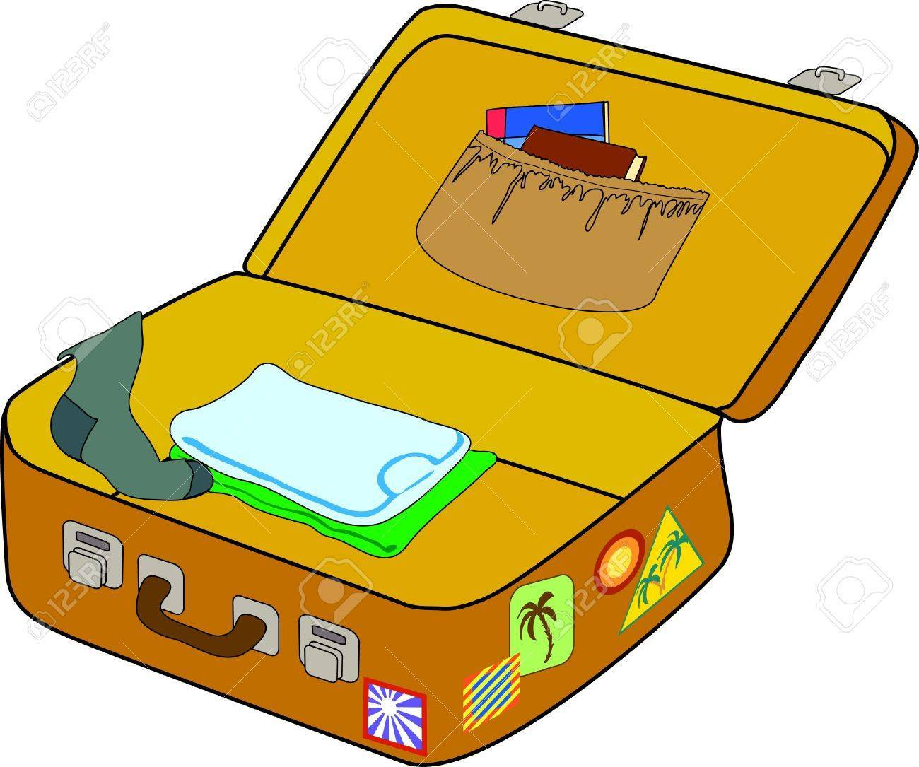 Pack suitcase clipart vector free Packing suitcase clipart 9 » Clipart Portal vector free