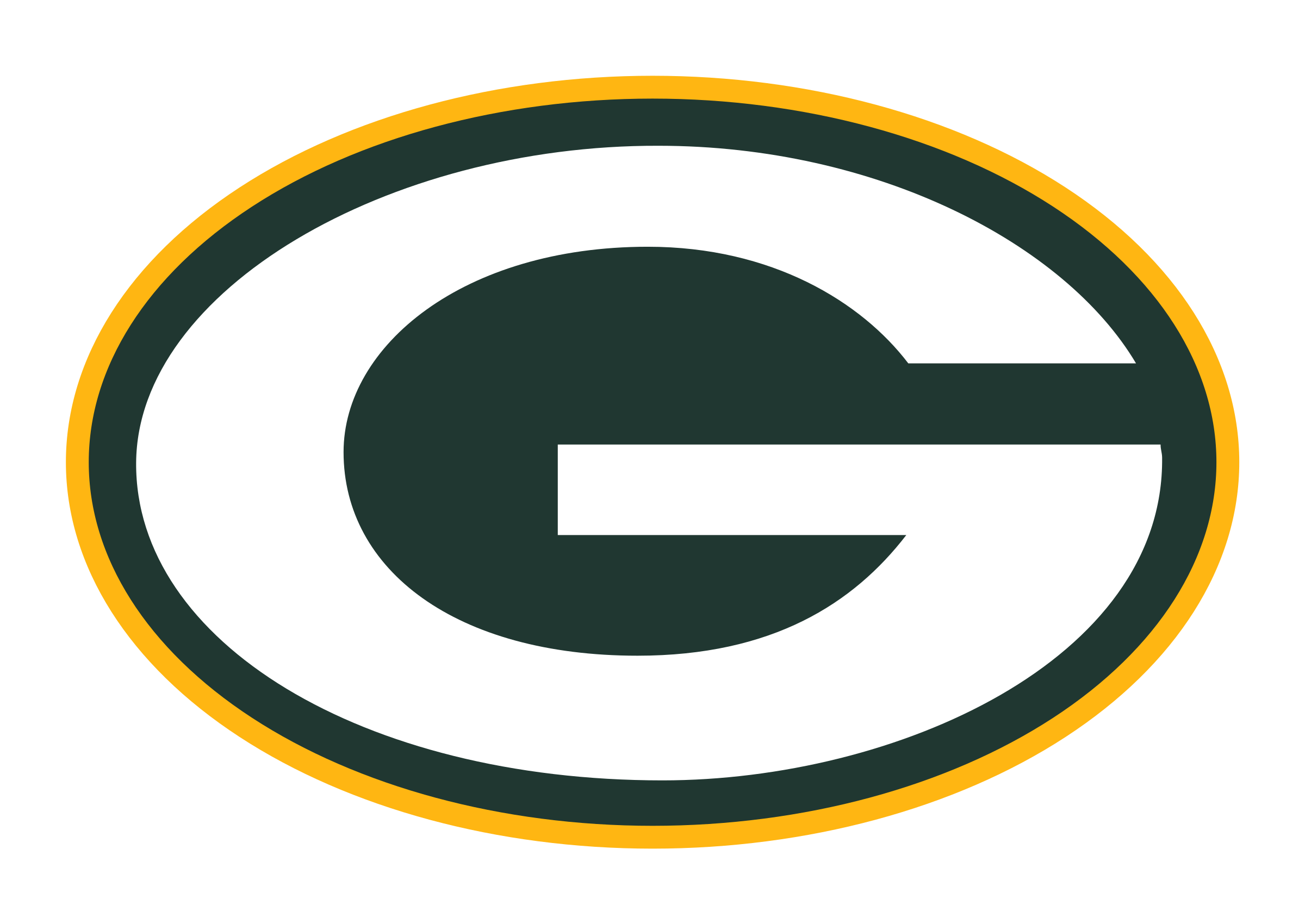 Packers football clipart clipart transparent stock Green Bay Packers Logo PNG Transparent & SVG Vector - Freebie Supply clipart transparent stock