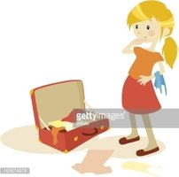 Packingsuticase clipart free stock Packing The Suitcase stock vectors - Clipart.me free stock