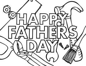 Paerints work hard clipart for coloring clip free stock Happy Fathers Day coloring page (kids activity) | Father\'s Day ... clip free stock