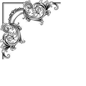 Page corners clipart jpg transparent Decorative Corner | Free Images at Clker.com - vector clip art ... jpg transparent