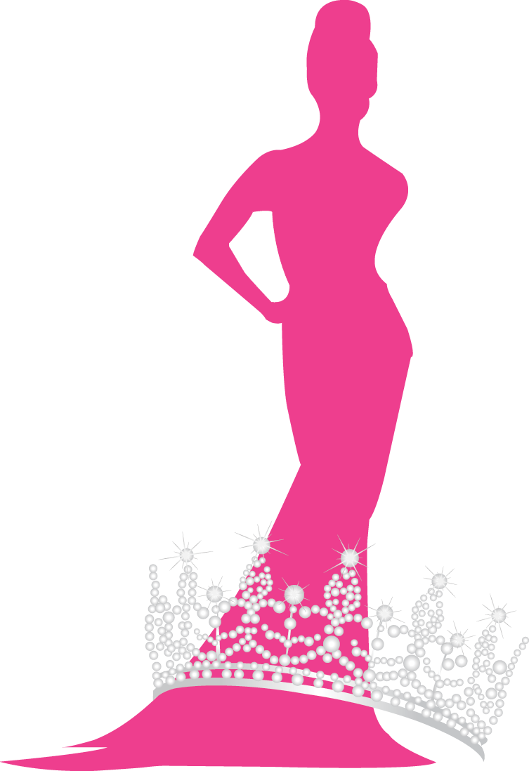 Pageant crown png clipart clipart black and white stock Schedule – TBA – Miss Nationwide clipart black and white stock