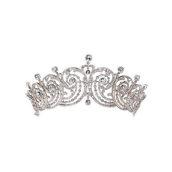 Pageant crowns clipart graphic black and white download Pageant Crown Clip Art ❤ liked on Polyvore featuring accessories ... graphic black and white download