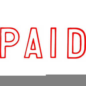 Paid in full clipart svg transparent library Clipart Paid In Full Stamp | Free Images at Clker.com - vector clip ... svg transparent library