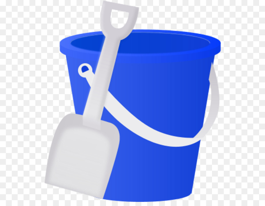 Library of pail and shovel clip black and white stock png ...