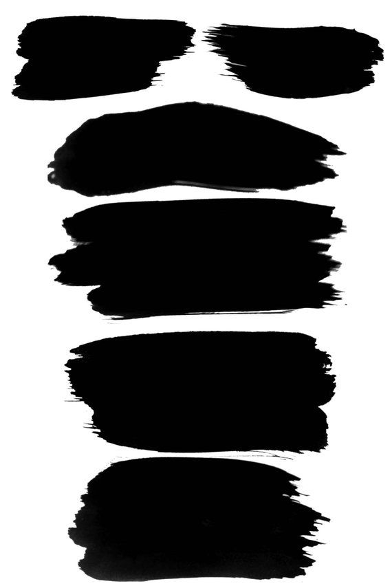 Paint brush strokes clipart black and white picture library download Black Watercolor Brush Strokes #8, Black Paint Clipart, Black Paint ... picture library download