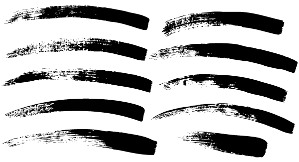 Paint brush strokes clipart black and white image black and white download Free Paint Brush Strokes Vector | Free Vectors | Brush stroke vector ... image black and white download