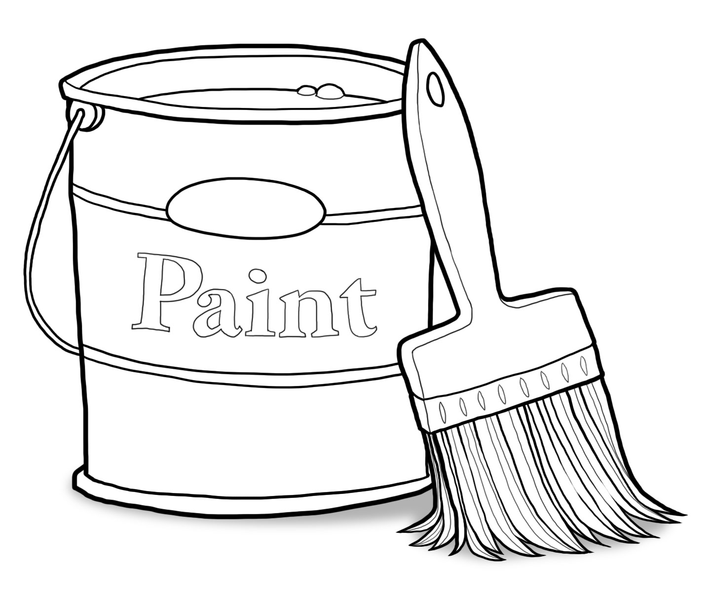 Paint can and brush clipart black and white clip art transparent download Free White Paint Cliparts, Download Free Clip Art, Free Clip Art on ... clip art transparent download