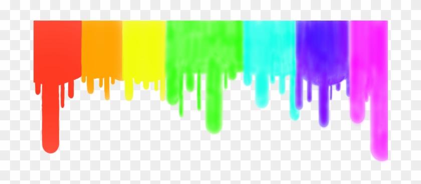 Paint dripping clipart svg transparent stock Neon Clipart Paint Drip - Rainbow Paint Dripping Png ... svg transparent stock