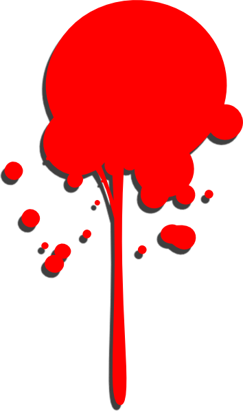 Paint drop clipart free library Red Paint Drop Clip Art at Clker.com - vector clip art ... free library