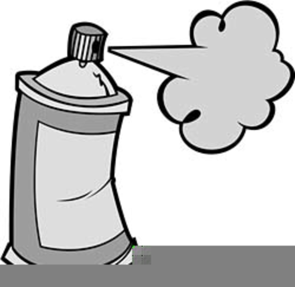 Paint spray clipart vector transparent library Clipart Spray Paint Cans | Free Images at Clker.com - vector clip ... vector transparent library