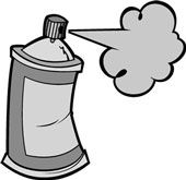 Paint spray clipart graphic free stock Spray Paint Can Clipart | Looking glass in 2019 | Spray paint cans ... graphic free stock