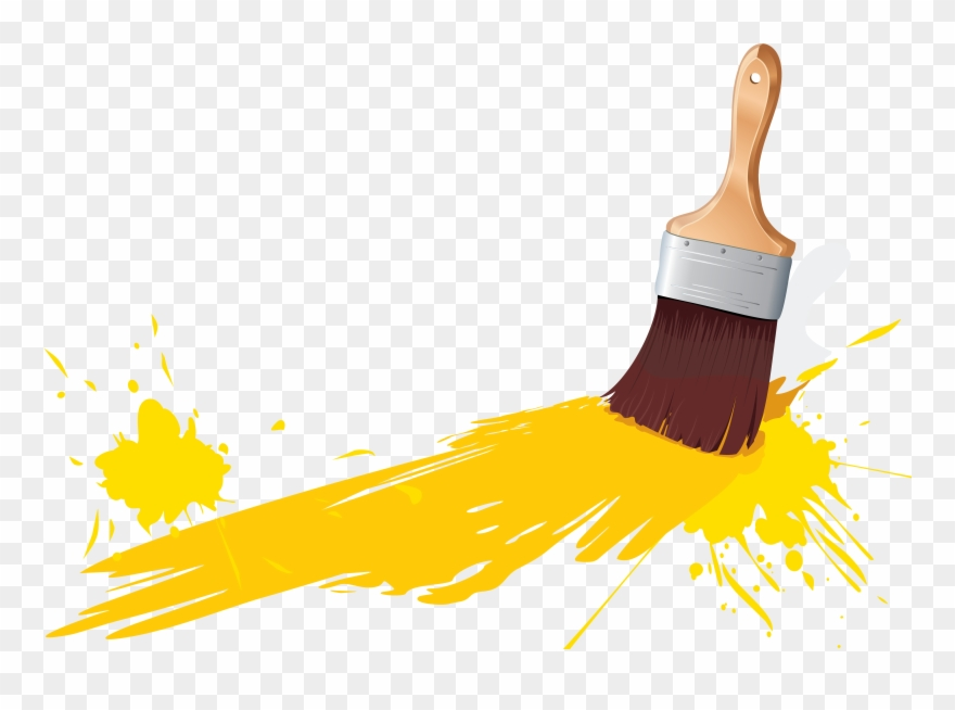 Paintbrush clipart no background picture library library Save Png With Transparent Background Paint - Paint Brush Png ... picture library library