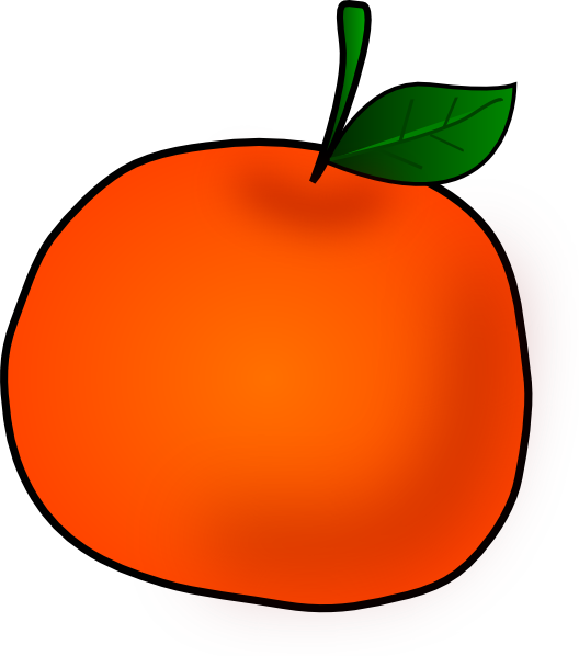 Painted apple clipart transparent stock Apple Clipart Orange #2312532 transparent stock