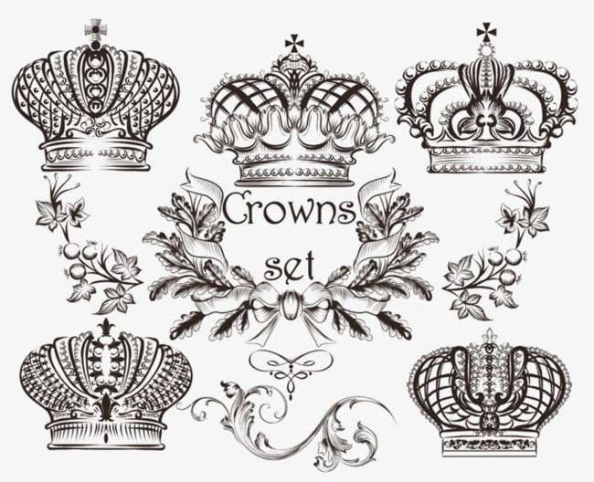 Painted figure clipart png royalty free Crown Painted Figure PNG, Clipart, Black, Black And White ... png royalty free