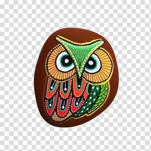 Painted rock clipart png freeuse download The Starry Night Painting Rock art, Brown stone painted ... png freeuse download