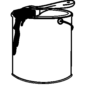 Painter with foot in paint bucket clipart clip free download Collection of Paint bucket clipart | Free download best ... clip free download