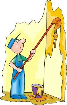 Painting the wall clipart png royalty free Wall painting clipart 3 » Clipart Station png royalty free