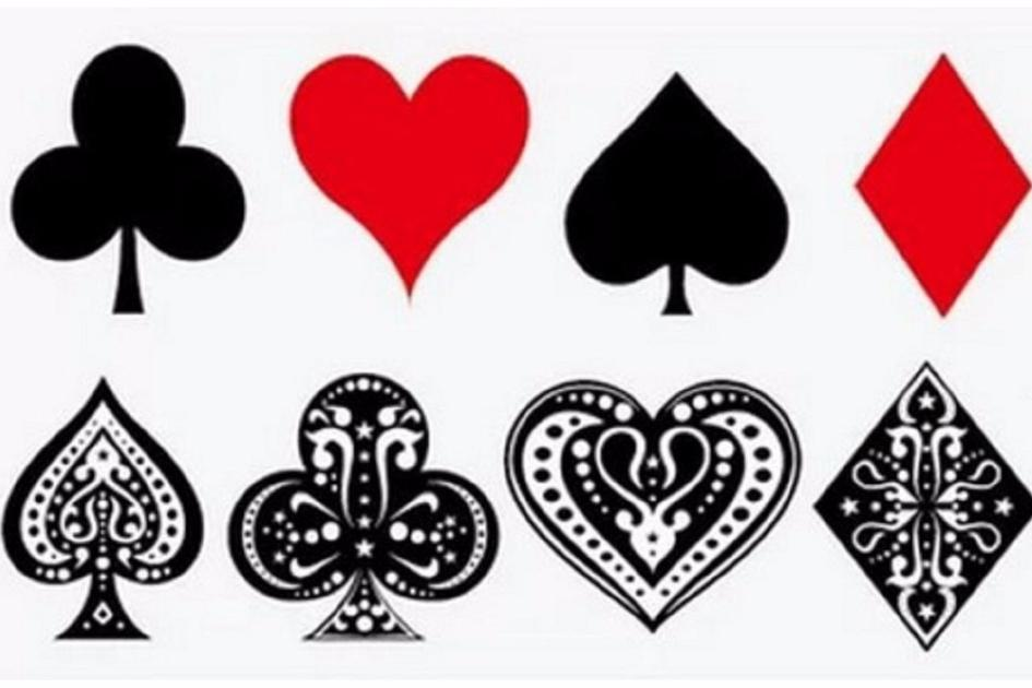Pair of aces heart and spade clipart picture library download Harley Quinn Poker Tattoos picture library download