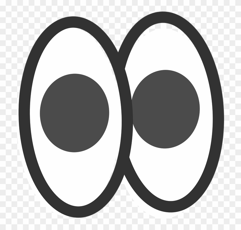 Pair of eyes clipart black and white jpg royalty free library Jpg Black And White Eyes Clip Art At Clker Com Vector - Pair Of Eyes ... jpg royalty free library