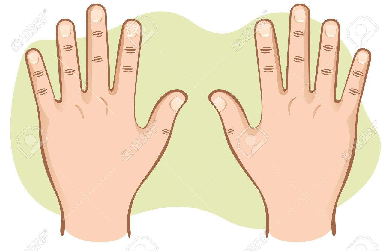 Pair of hands clipart vector freeuse stock Pair of hands clipart 4 » Clipart Portal vector freeuse stock