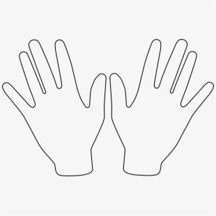 Pair of hands clipart clipart Hands Pair Open Free Picture - Clipart Hands #950224 - Free ... clipart