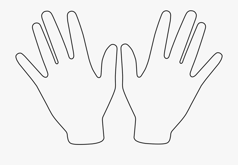 Pair of hands clipart clip art royalty free download Hands Pair Open Free Picture - Clipart Hands #950224 - Free ... clip art royalty free download