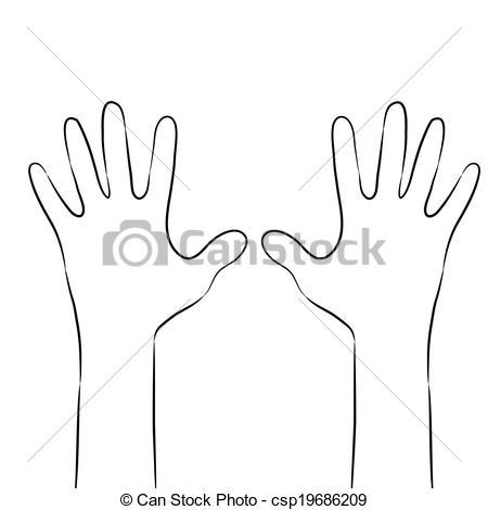 Pair of hands clipart clip library Pair of hands clipart 2 » Clipart Portal clip library