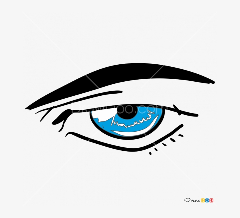 Pair of male eyes clipart black and white image free How To Draw Male Eye Clip Art Freeuse Library - Anime Eyes ... image free