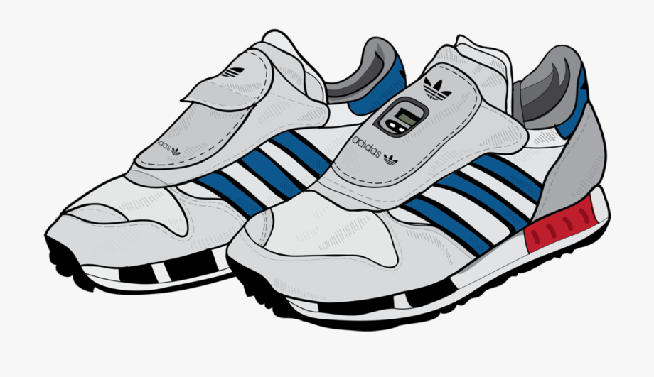 Pair of running shoes clipart image black and white Running Shoe Clipart - Transparent Background Running Shoes Clipart ... image black and white