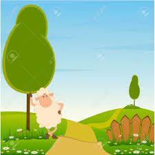 Paisaje lapiz color clipart clipart Resultado de imagen para dibujos de paisajes a color animados ... clipart