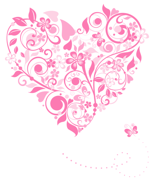 Paisley heart clipart vector stock Transparent Pink Heart Decoration PNG Picture | Paper, Crafts ... vector stock