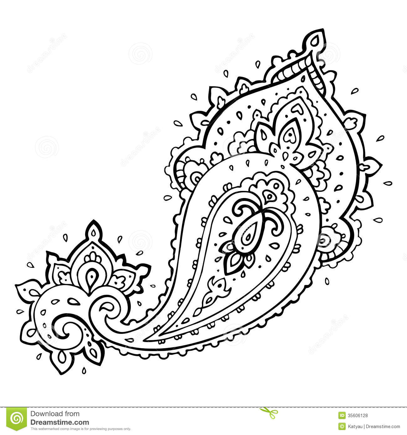 Paisly clipart picture stock 67+ Paisley Clip Art   ClipartLook picture stock