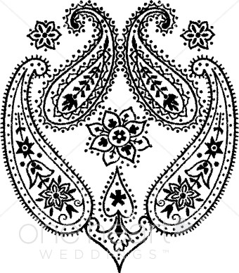 Paisly clipart clip freeuse Paisley Clipart   Wedding Designs clip freeuse