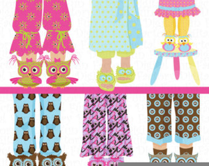 Pajama party clipart clip black and white download Free Pajama Party Clipart | Free Images at Clker.com - vector clip ... clip black and white download
