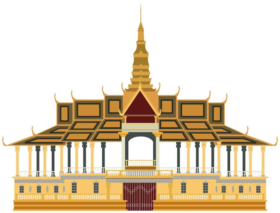 Palacce clipart picture royalty free stock Download royal palace clipart Royal Palace, Phnom Penh Clip art ... picture royalty free stock