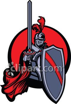 Paladin clipart clipart royalty free Paladin and warriors clipart image | Clipart.com clipart royalty free
