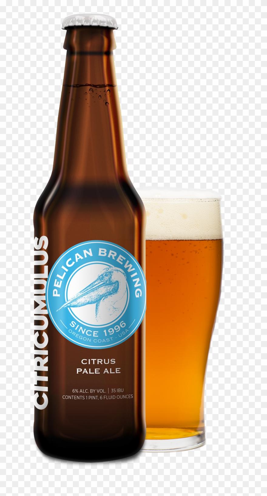 Pale ale clipart clipart black and white download Pelican Citricumulus Citrus Pale Ale Clipart (#2308253 ... clipart black and white download