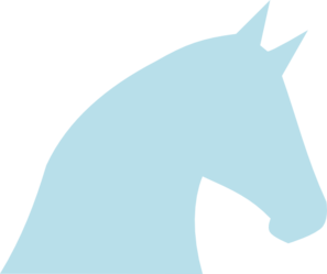 Pale blue clipart png freeuse library Pale Blue Horse PNG, SVG Clip art for Web - Download Clip ... png freeuse library