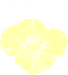 Pale yellow clipart picture stock Pale Yellow Poppy Clip Art at Clker.com - vector clip art ... picture stock