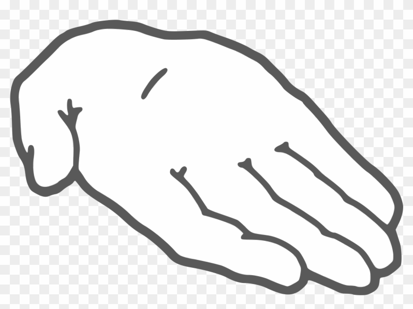Palm hand clipart image download Clipart - Hand Palm Clipart Black And White, HD Png Download ... image download