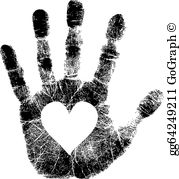 Palm hand free black and white clipart download Hand Palm Clip Art - Royalty Free - GoGraph download