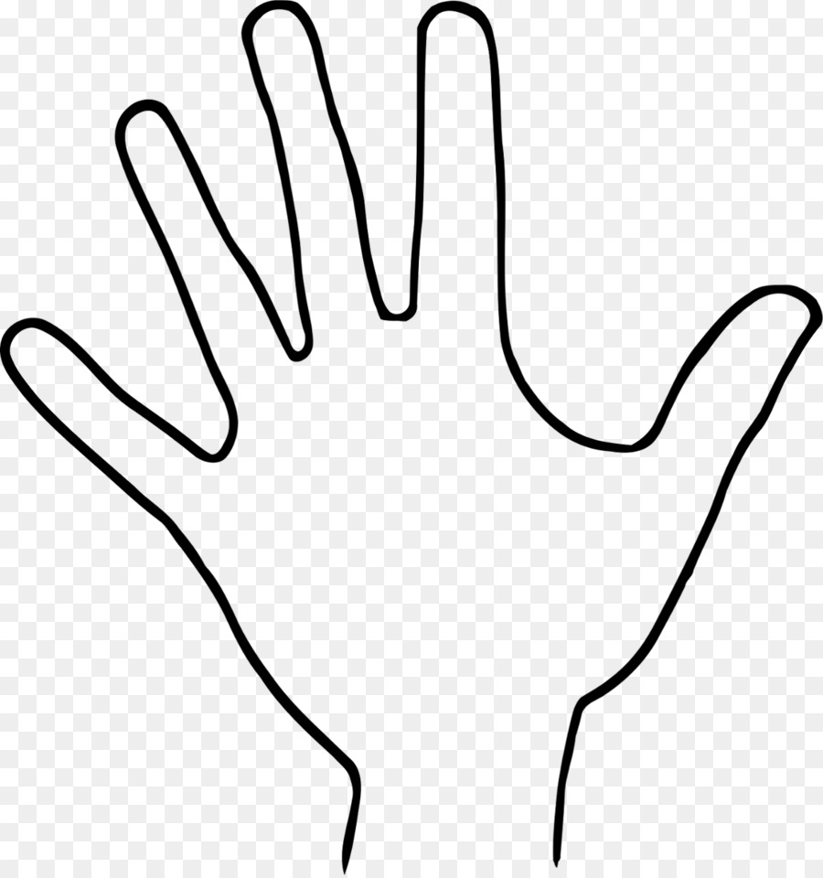 Palm hand free black and white outline transparent clipart clip art freeuse download Hand Outline Png & Free Hand Outline.png Transparent Images ... clip art freeuse download