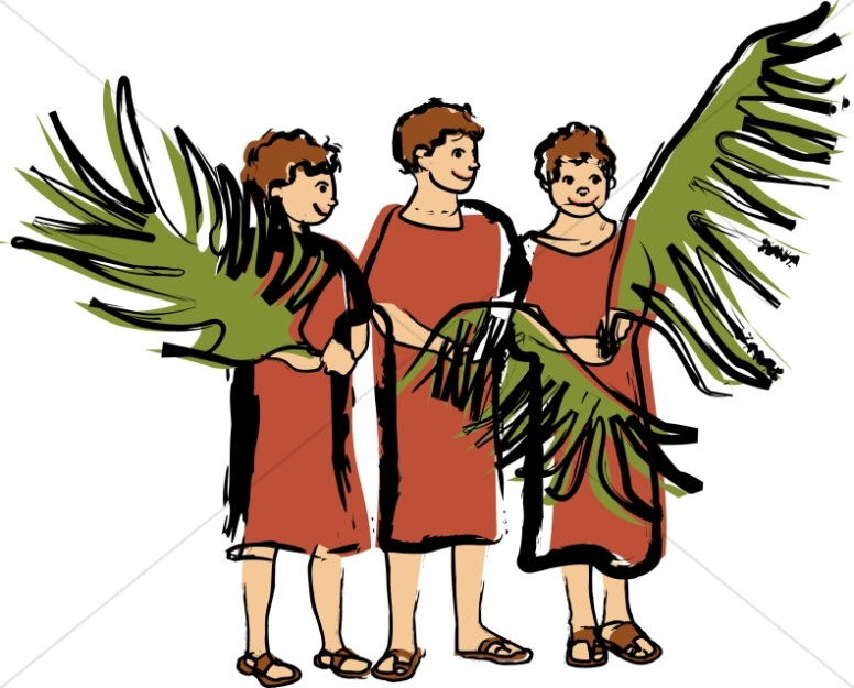 Palm sunday childrens program clipart image Palm Sunday Clipart, Palm Sunday Images -Sharefaith image