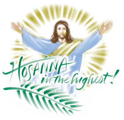 Palm sunday childrens program clipart clip free download Palm Sunday Clip-Art for All Your Easter Season Needs ... clip free download