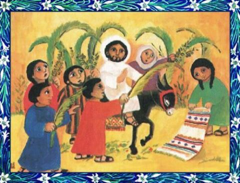 Palm sunday childrens program clipart png library What is Palm Sunday? Facts, activities and songs for ... png library