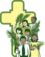 Palm sunday childrens program clipart clip library Palm Sunday Clip-Art for All Your Easter Season Needs ... clip library